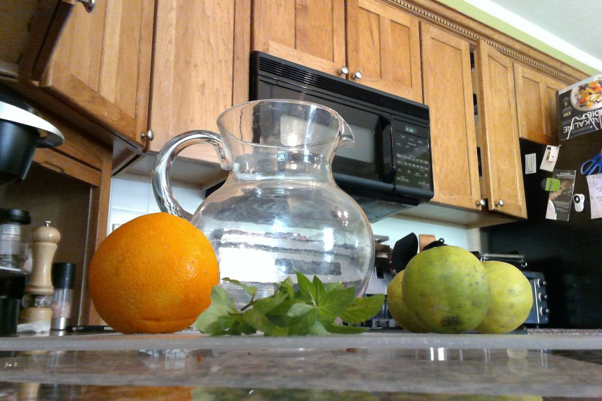 Drink up! 5 natural flavored water recipesincluded